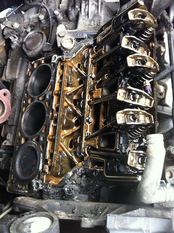 5 4l 3 valve engine diagram oil and coolant mixing in    engine    causes big car repair  oil and coolant mixing in    engine    causes big car repair