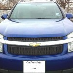 Blue Chevy Equinox