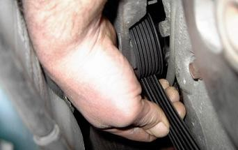How to check your serpentine belt for needing replacement