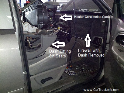 S10 Blazer Heater Core Removal http://www.cartruckinfo.com/chevy-trailblazer-replace-heater-core.html