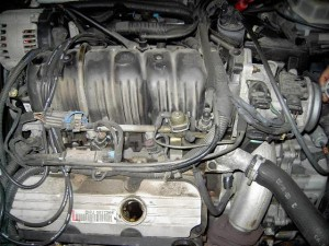 V Engine X on Buick 3800 Engine Intake