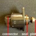 IAC motor. Idle control valve controls idle speed.
