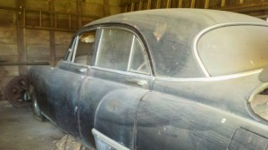 1949 Oldsmobile left side view