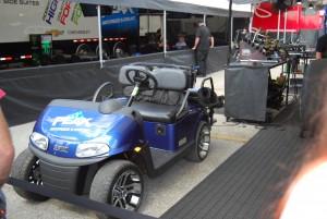 NHRA golf cart